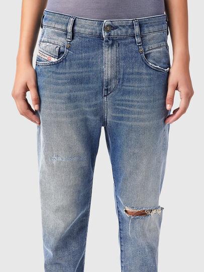 Diesel - Fayza 09B16, Light Blue - Jeans - Image 3