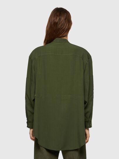 Diesel - C-EILEEN, Olive Green - Shirts - Image 2