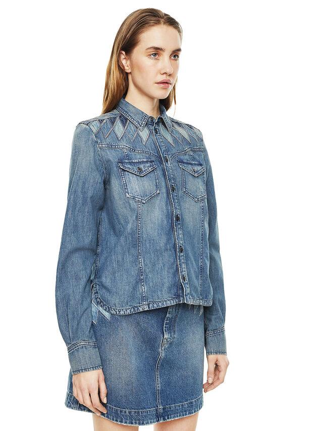 Diesel - CALLYVAN, Blue Jeans - Shirts - Image 5