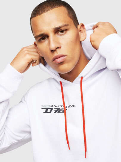 Diesel - UMLT-BRANDON, White - Sweaters - Image 4