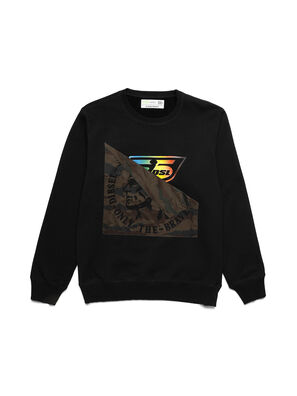 D-HALF&HALF, Black - Sweaters