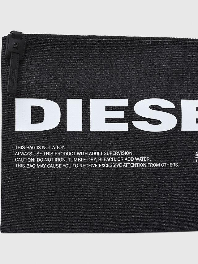 Diesel - LUSINA II, Blue Jeans - Continental Wallets - Image 4