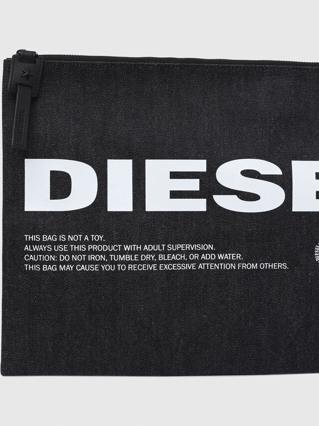 Diesel - LUSINA II, Blue Jeans - Continental Wallets - Image 4