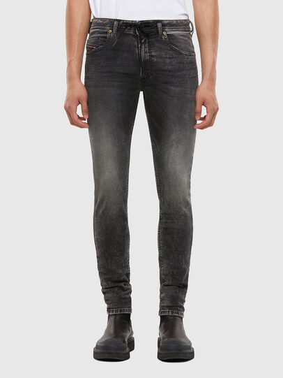 Diesel - Thommer JoggJeans® 009KC, Black/Dark grey - Jeans - Image 1