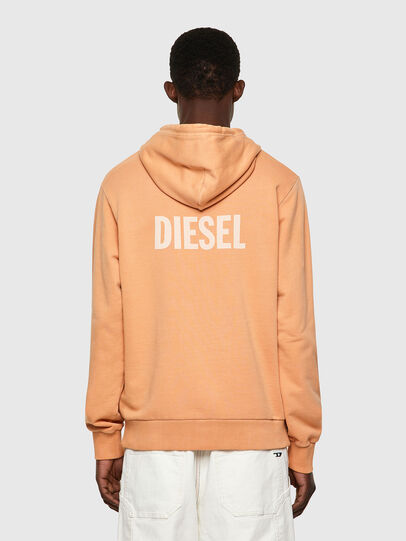 Diesel - S-GIRK-HOOD-B3, Orange - Sweaters - Image 2
