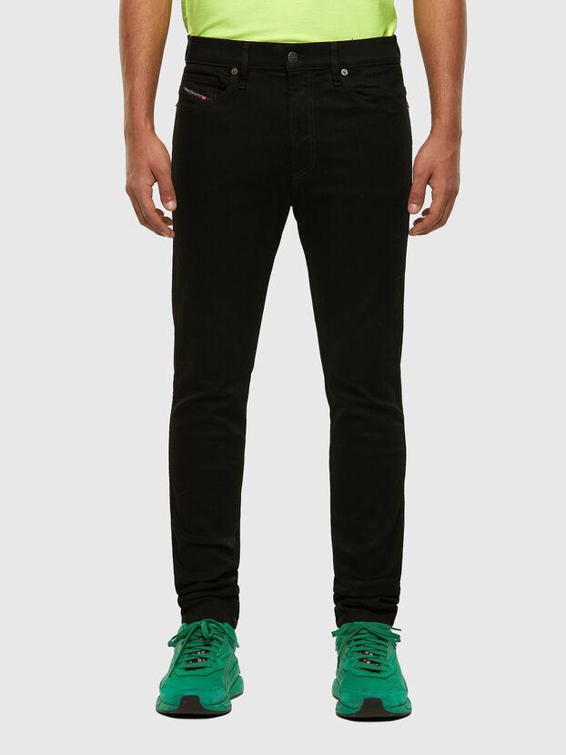 D-Istort 069EF, Black/Dark grey - Jeans