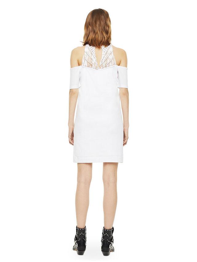 Diesel - DERSEY, White - Dresses - Image 2