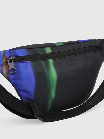 Diesel - F-SUSE BELT DM, Black/Blue - Belt bags - Image 5