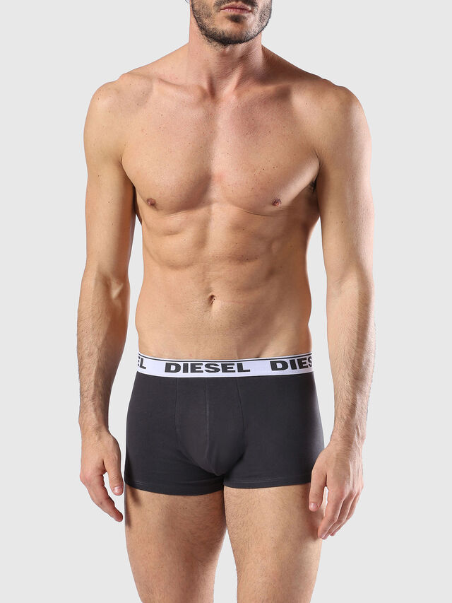 Diesel - UMBX-SHAWNTHREE-PACK, Black/Green - Trunks - Image 2