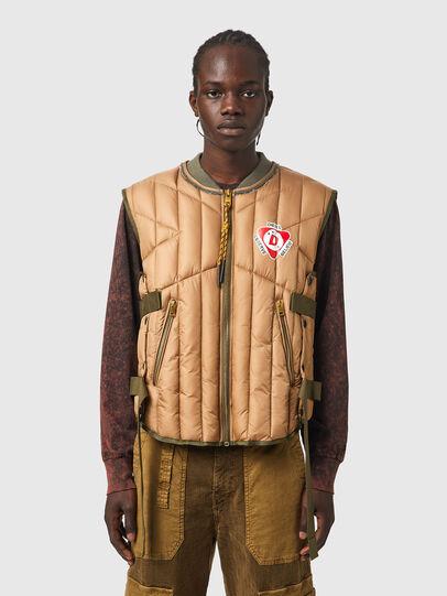 Diesel - J-HAWLEY, Light Brown - Jackets - Image 1