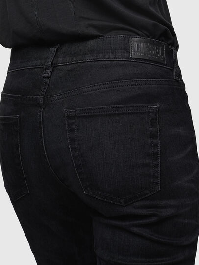 Diesel - D-Ebbey 0091I, Black/Dark grey - Jeans - Image 5