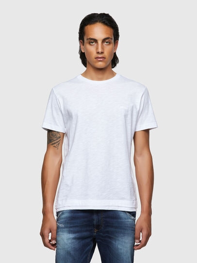 Diesel - T-RONNIE, White - T-Shirts - Image 1