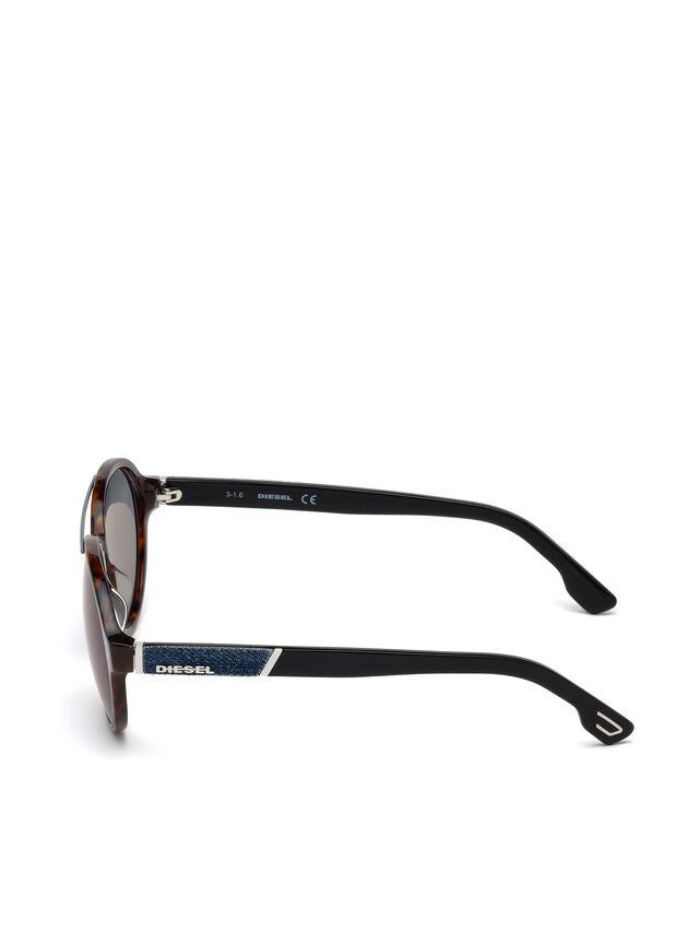 Diesel - DL0214, Brown - Sunglasses - Image 3
