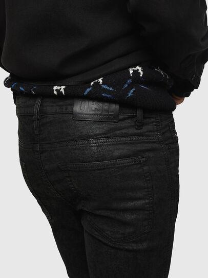 Diesel - D-Reeft JoggJeans 084AG, Black/Dark grey - Jeans - Image 4