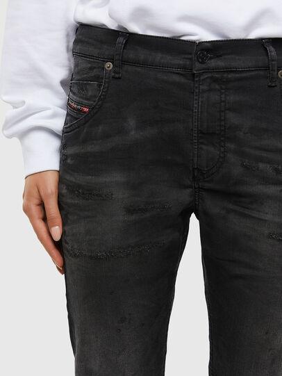 Diesel - Krailey JoggJeans 069QL, Black/Dark grey - Jeans - Image 3