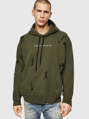 S-ALBY-RIP, Military Green - Sweaters