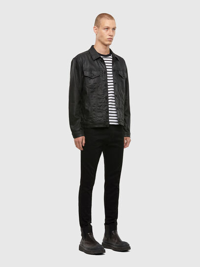 Diesel - NHILL-TW, Black - Denim Jackets - Image 6