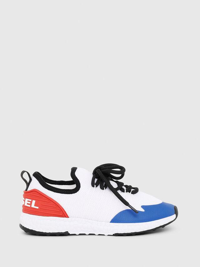 Diesel - SN LOW 10 S-K YO, White/Red/Blu - Footwear - Image 1