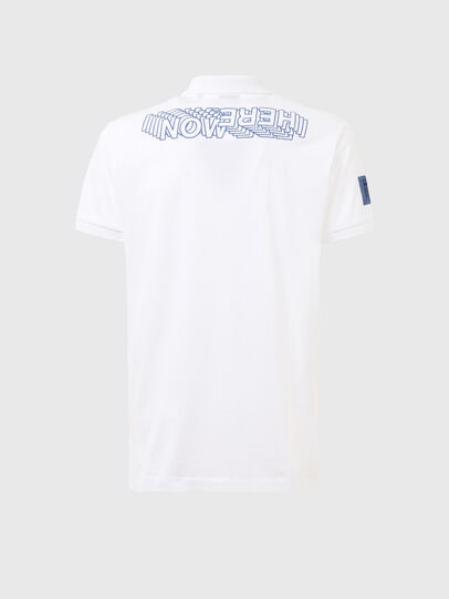 Diesel - T-RALF-PATCH, White - Polos - Image 2
