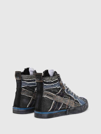 Diesel - D-VELOWS MID LACE, Black/Blue - Sneakers - Image 3
