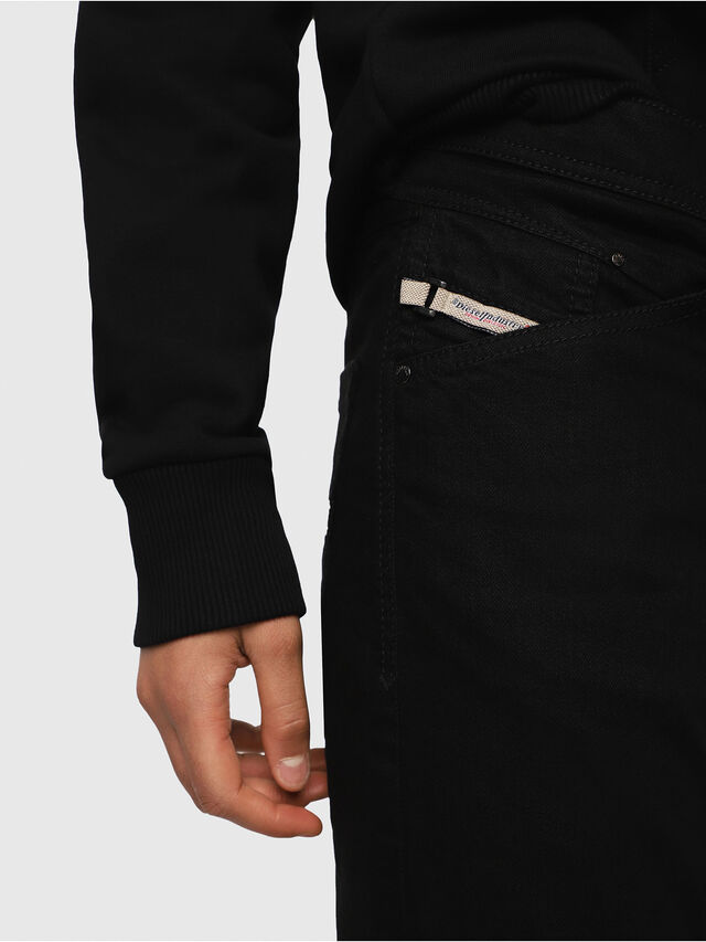 Diesel Belther 0886Z, Black/Dark grey - Jeans - Image 3