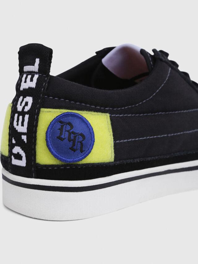 Diesel - D-VELOWS LOW PATCH, Black - Sneakers - Image 5