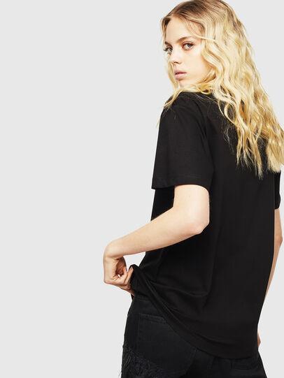 Diesel - T-DARIA-Y, Black - T-Shirts - Image 2