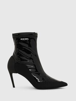 D-SLANTY ABM, Black - Ankle Boots