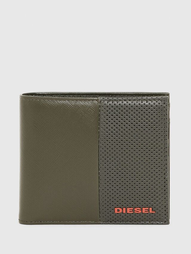 Diesel - HIRESH S, Olive Green - Small Wallets - Image 1