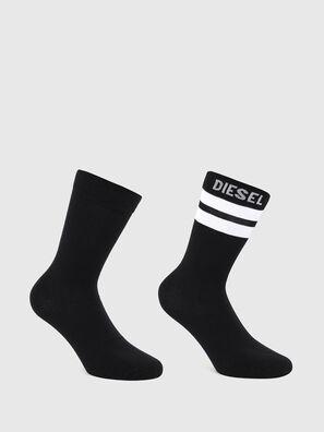 SKM-RAY-TWOPACK, Black/White - Socks
