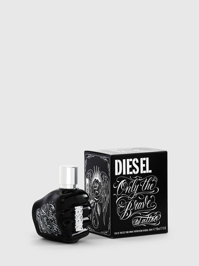 Diesel - ONLY THE BRAVE TATTOO 50 ML, Black - Only The Brave - Image 1