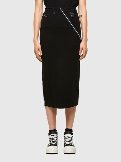 Diesel - O-CROSS, Black - Skirts - Image 1