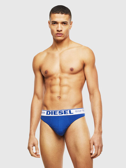 Diesel - UMBR-STRING, Blue - Briefs - Image 1