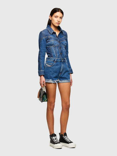 Diesel - DE-REG-R, Medium blue - Shorts - Image 5