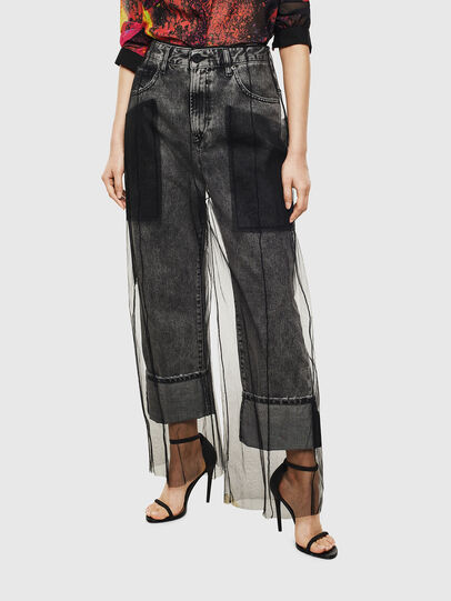 Diesel - TYPE-1004, Black - Jeans - Image 1