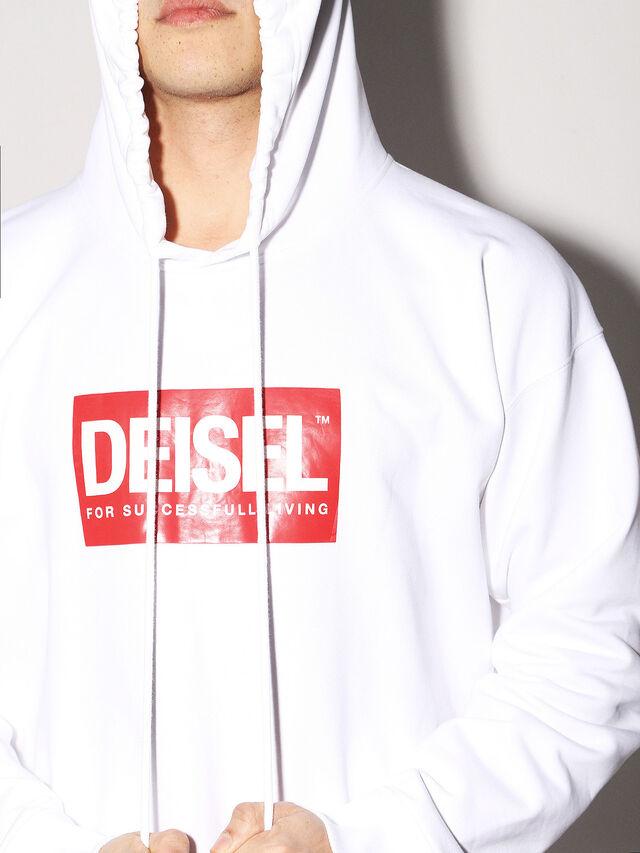 Diesel - DEIS-SHOOD, White - Sweaters - Image 6