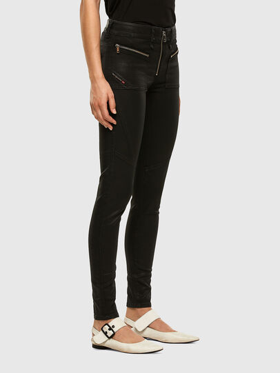 Diesel - Slandy 069JT, Black/Dark grey - Jeans - Image 6
