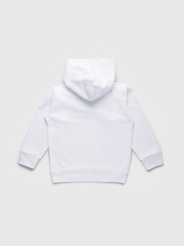Diesel - SDIVISION OVER, White - Sweaters - Image 2