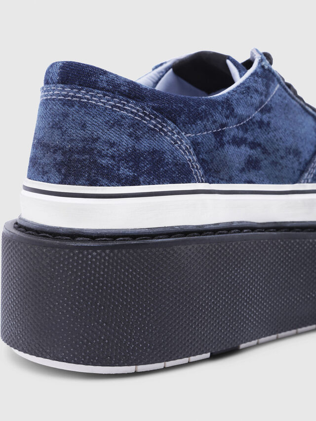Diesel - H-SCIROCCO LOW, Blue - Sneakers - Image 5