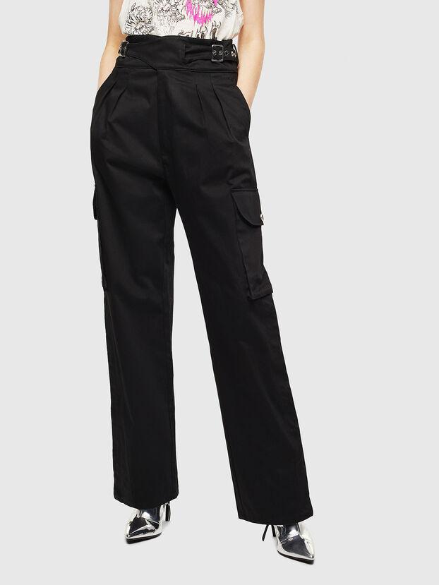 P-CHIKU, Black - Pants