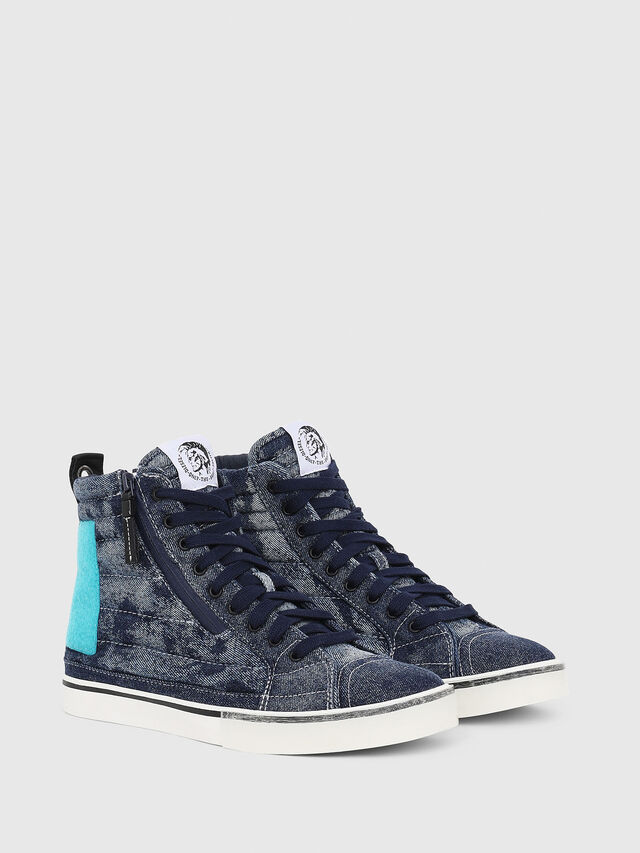 Diesel - D-VELOWS MID PATCH, Blue - Sneakers - Image 2