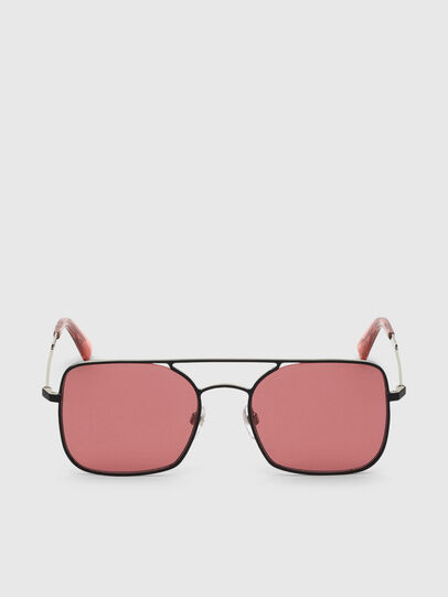 Diesel - DL0302, Pink/Black - Sunglasses - Image 1