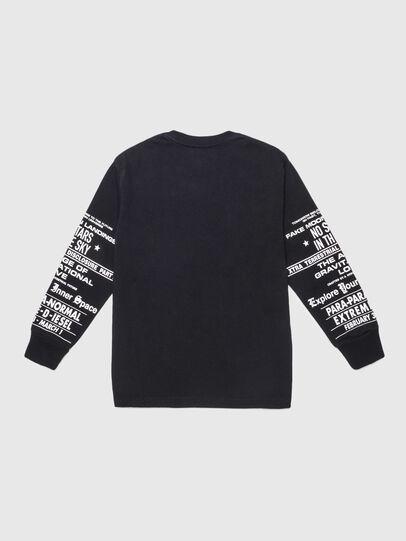 Diesel - TJUSTLSBX1 OVER, Black - T-shirts and Tops - Image 2