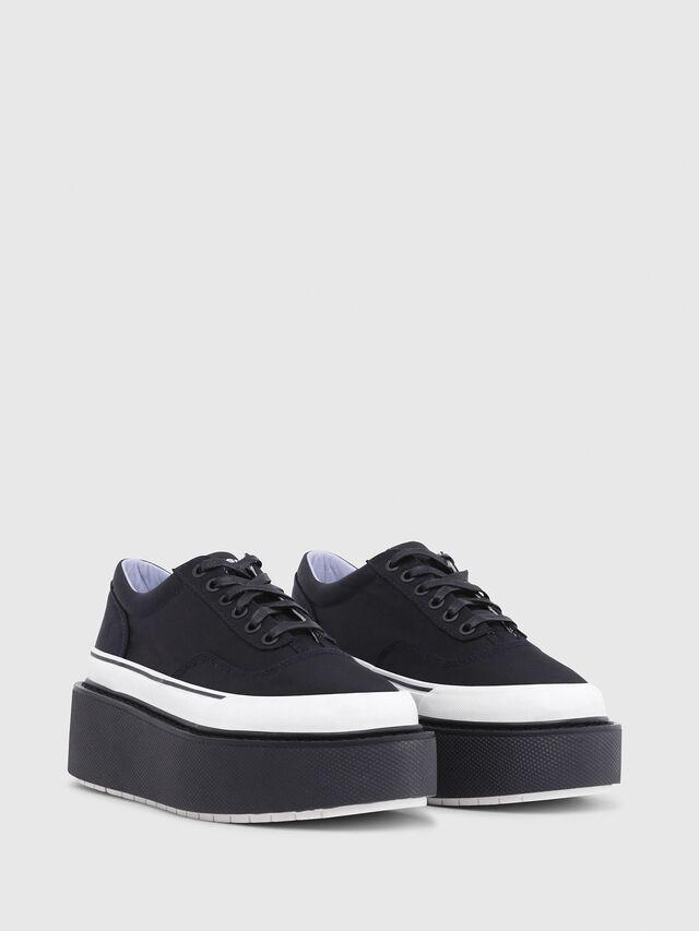 Diesel - H-SCIROCCO LOW, Black - Sneakers - Image 2