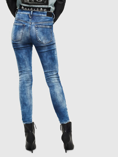 Diesel - Slandy High 0096J, Medium blue - Jeans - Image 2