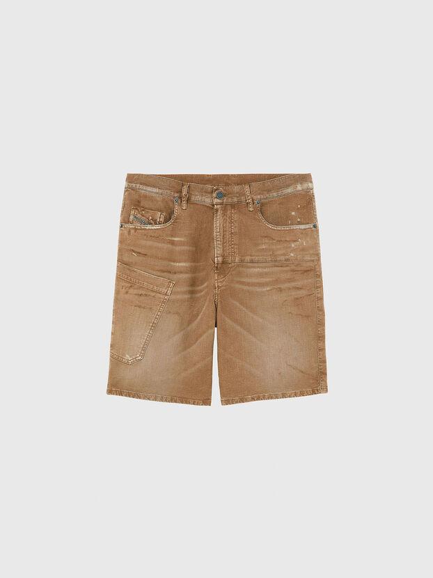 D-AZERR-SHORT JOGGJEANS, Brown - Shorts