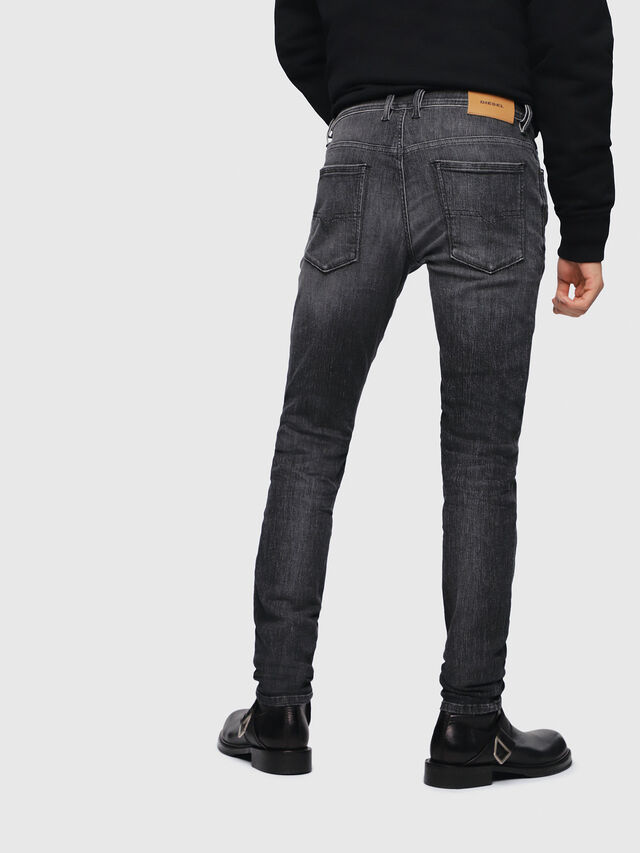 Diesel - Sleenker 089AA, Black/Dark grey - Jeans - Image 2