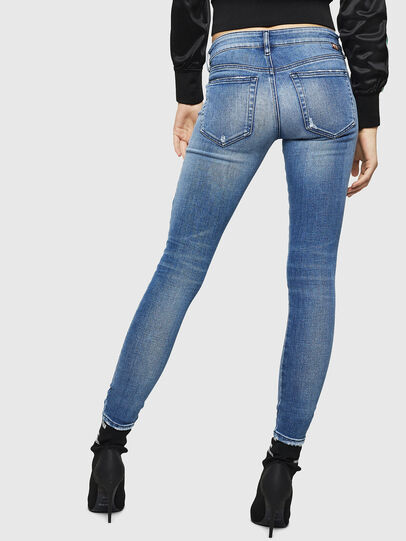 Diesel - Slandy Low 083AP, Medium blue - Jeans - Image 2