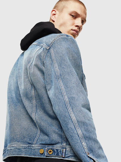Diesel - D-BRAY, Light Blue - Denim Jackets - Image 5