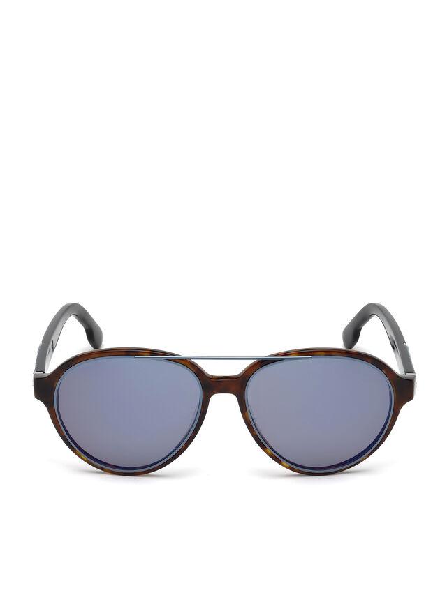 Diesel DL0214, Brown - Eyewear - Image 1